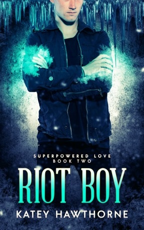 COVER of Book 2 Riot Boy - COMING SOON