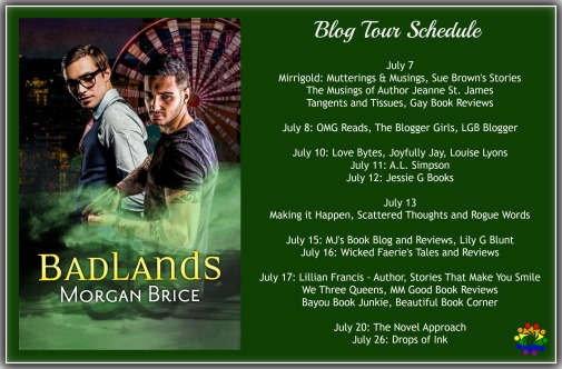 BADLANDS BLOG TOUR SCHEDULE