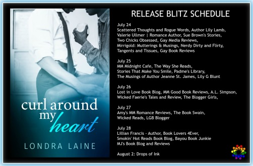 CURL AROUND MY HEART SCHEDULE