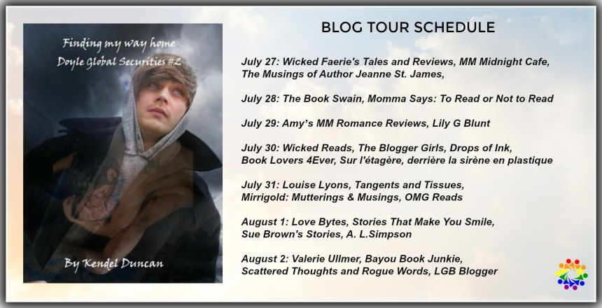 FINDING MY WAY HOME BLOG TOUR SCHEDULE