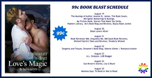 99c Book Blast SCHEDULE