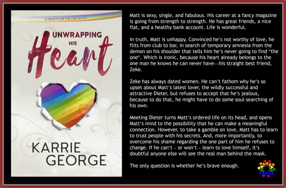 UNWRAPPING HIS HEART BLURB