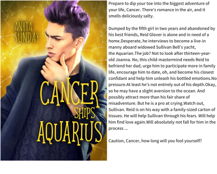 Cancer Ships Aquarius Graphic