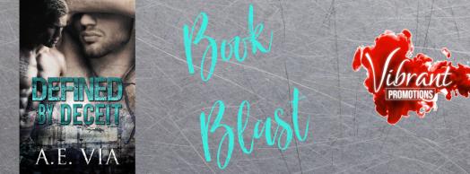 Defined by Deceit Book Blast Banner