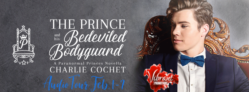 The Prince and His Bedeviled Bodyguard Audio Tour Banner