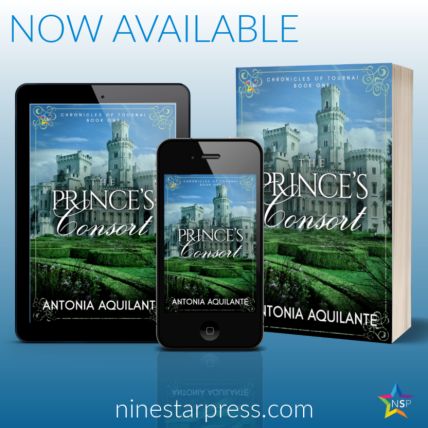The Princes Consort Now Available