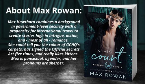 Author Bio Max