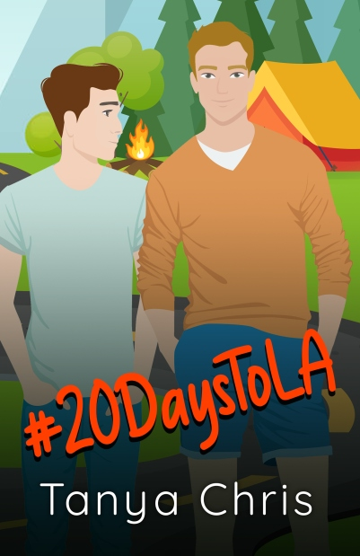 #20DaystoLA cover