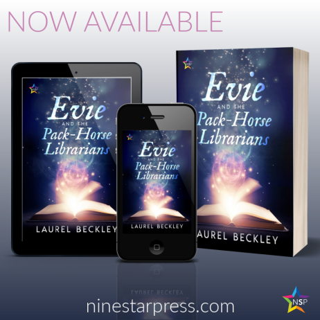 Evie and the Pack Horse Librarians Now Available