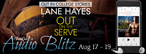 Out on the Serve Audio Banner