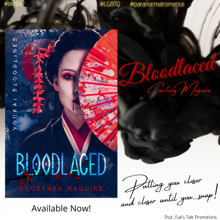 Bloodlaced Blog Tour Instagram