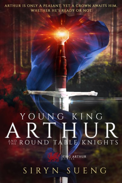 Young King Arthur and the Round Table Knights