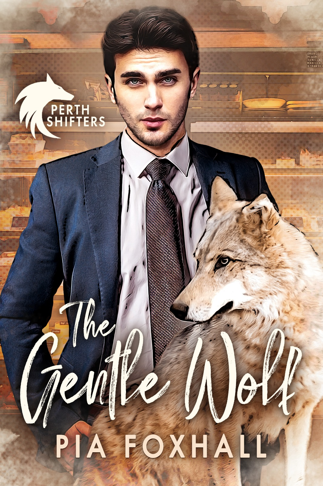 The Gentle Wolf Cover