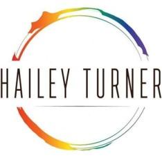 Hailey Logo rainbow